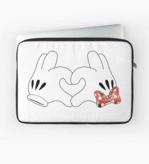 Minnie and Mickey Love Laptop Sleeve