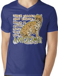 Babou is Awesome Mens V-Neck T-Shirt