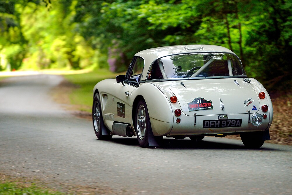 The Three Castles Welsh Trial 2014 - Healey 3000 MK11A by Three-Castles