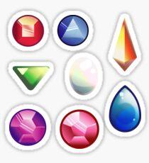 Gem Cast stickers - Steven Universe Sticker