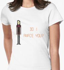 The IT Crowd – Do I Amaze You? Womens Fitted T-Shirt