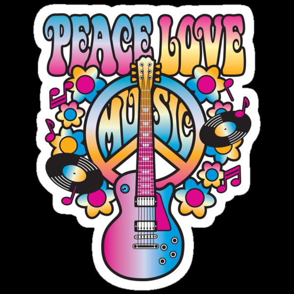 Peace, Love and Music by Lisann
