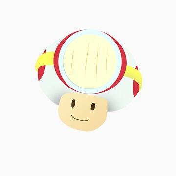 Cap'n Toad by amynicolepalmer