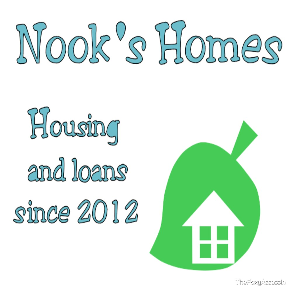 Nook's Homes Logo by TheFoxyAssassin