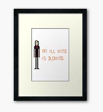 The IT Crowd – An Ill Wind is Blowing Framed Print