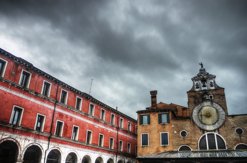 rain clouds over Venice by Ms-Bexy