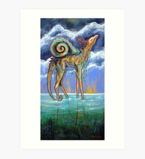 Wandering Sea Art Print