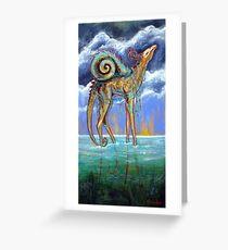 Wandering Sea Greeting Card