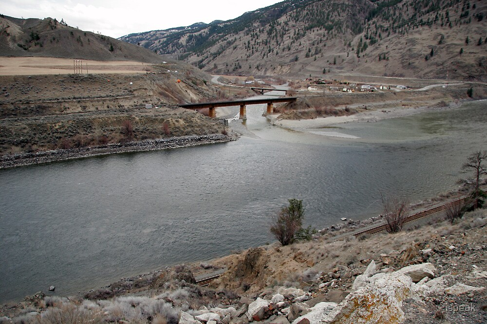 Confluence Thompson River & Nicola River 1 by ispeak