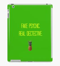 Fake Psychic. Real Dectective.  iPad Case/Skin