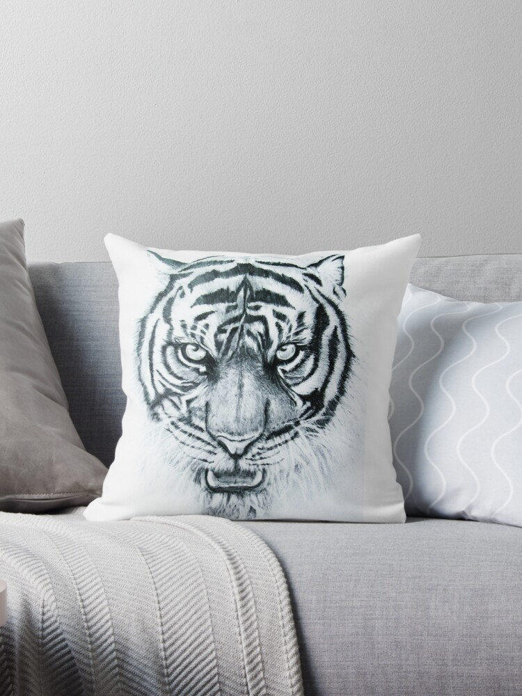 tiger eyes by atouchofcanvas