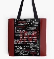 Jim Moriarty Quotes Print Tote Bag