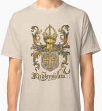 Kingdom of Jerusalem Coat of Arms - Livro do Armeiro-Mor Classic T-Shirt