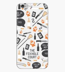The Foxhole Court Pattern iPhone Case
