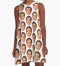 Nicolas Cage A-Line Dress