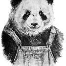 Pandas like dungarees  by graceeyeside