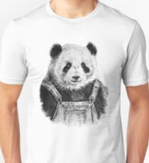 Pandas like dungarees  T-Shirt