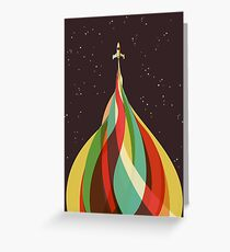 Kaleidoscope to the Stars Greeting Card