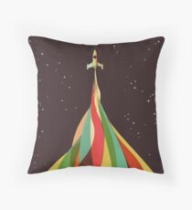 Kaleidoscope to the Stars Throw Pillow