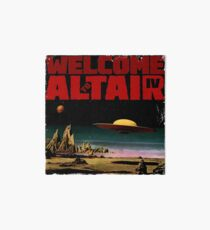 Altair IV... Welcome Art Board