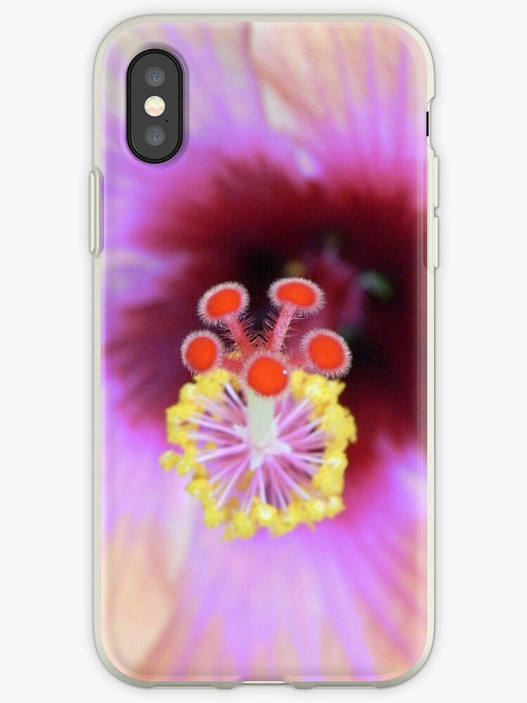 hibiscus phone case by Floralynne