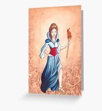 Britannia Greeting Card