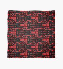 sd Red & Black Geometric Design 7+ 61716 Scarf