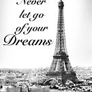Never let go of your dreams by DennisNewsome