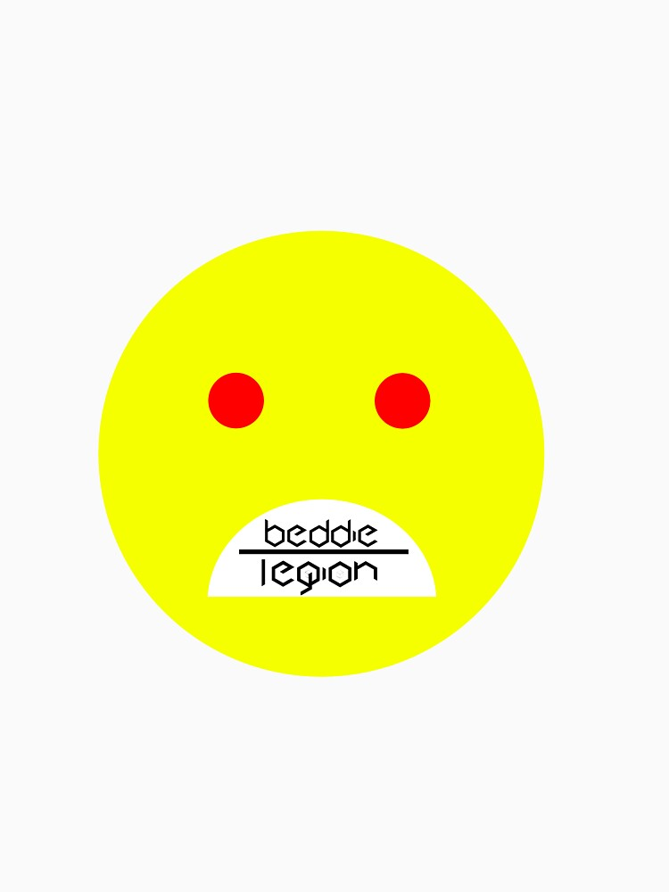 Beddie Legion Frown Face Tee by eddswitchengage
