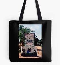 Abuko Nature Reserve Entrance in The Gambia - Print Tote Bag