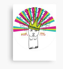 Royal Bunny Canvas Print