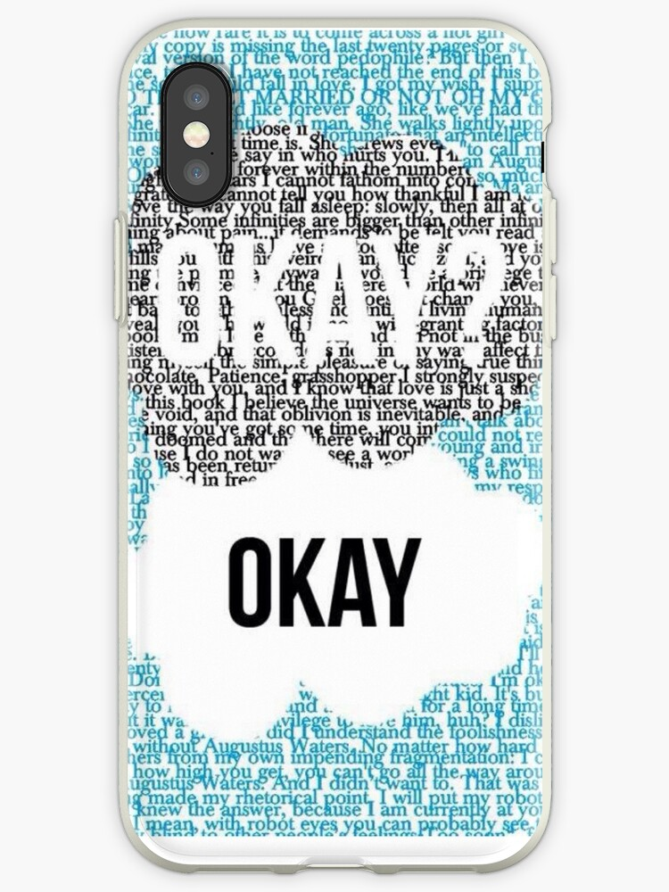 Okay, okay? The fault in our stars  by Kaleycritters