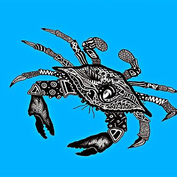 Maryland Blue Crab by LuckiiArts