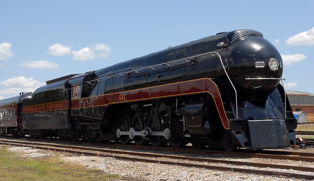 Norfolk and Western J Class  by Steve Mezardjian