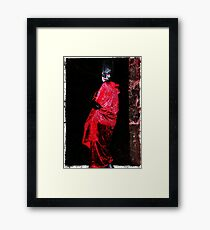 Red Undead Framed Print