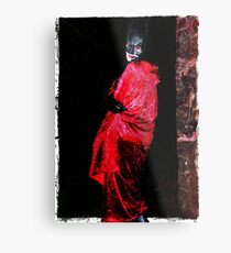 Red Undead Metal Print