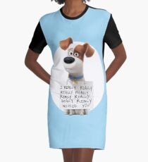 Max Graphic T-Shirt Dress