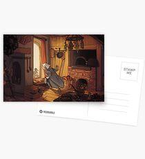 Medieval Kitchen Postcards