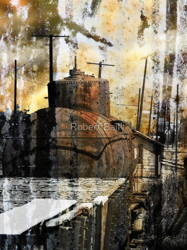 Old Train Yard II by Robert Ball