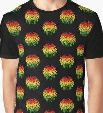 Like a Lion, Reggae, Rastafari, Africa, Jah, Jamaica,  Graphic T-Shirt