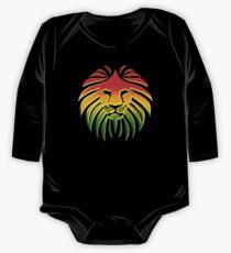 Like a Lion, Reggae, Rastafari, Africa, Jah, Jamaica,  Baby Body Langarm