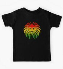 Like a Lion, Reggae, Rastafari, Africa, Jah, Jamaica,  Kids Tee