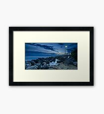 Sunrise at Wellington Point Jetty, Queensland, Australia Framed Print