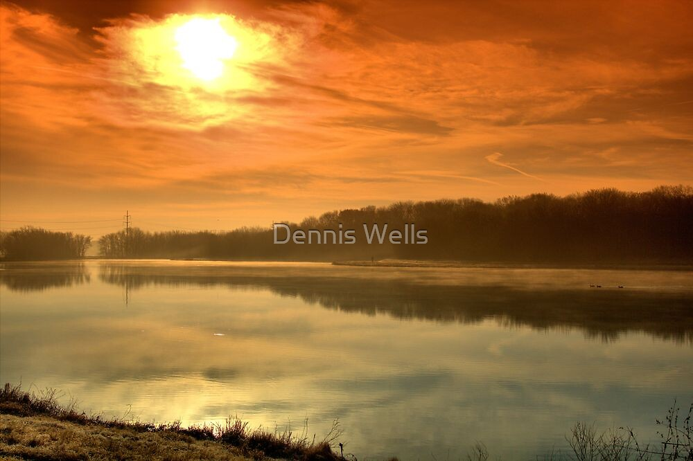 Orange Morning by Dennis Wells
