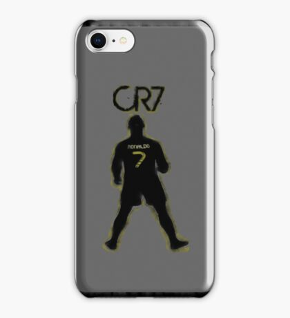 CR7 - Burnt Glow iPhone Case/Skin