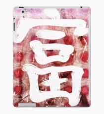 Rich Kanji iPad Case/Skin