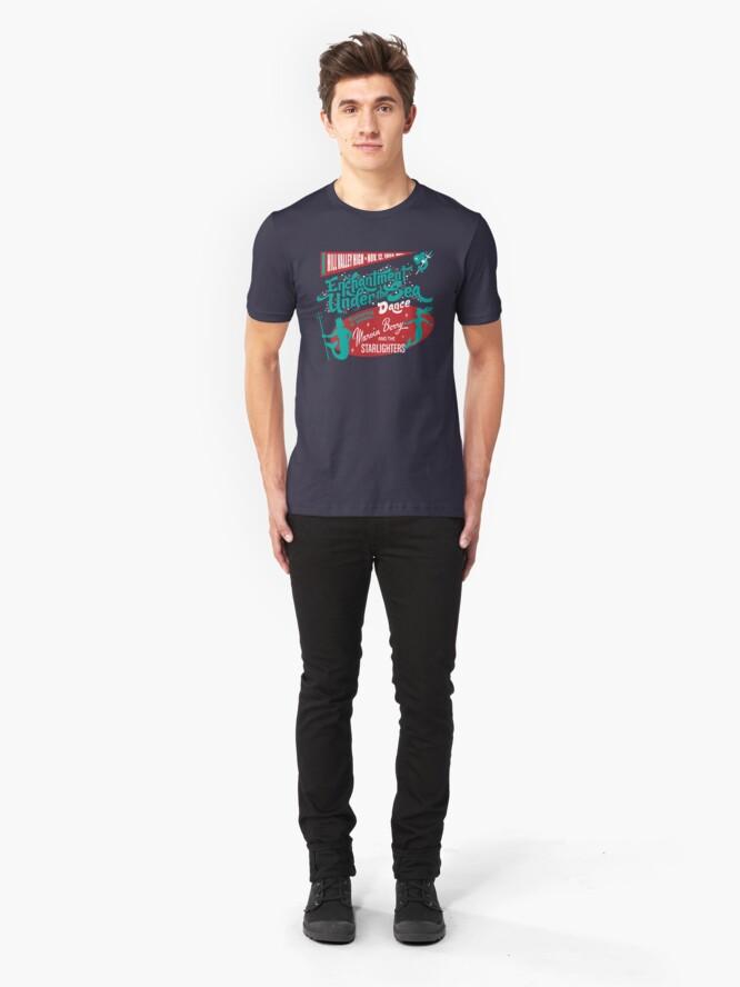 Alternative Ansicht von Enchantment Under the Sea Dance Slim Fit T-Shirt