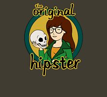 The Original Hipster Womens Fitted T-Shirt