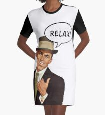 Frankie Say Relax Graphic T-Shirt Dress