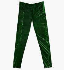 Green Lights - Matrix effect Leggings